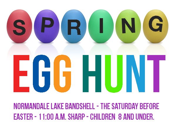 SPRING EGG HUNT — SATURDAY, MARCH 31, 2018